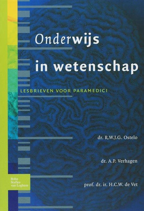 Cover van het boek '(Onder)wijs in wetenschap / druk 2' van A.P. Verhagen en R.W.J.G. Ostelo