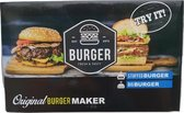 Afbeelding van 2 in 1 Burger Maker – Multi Burgermaker set – Hamburger Maker – Hamburgervormer – Hamburgers maken – Hamburgerpers – Stuffed Burger - Big Burger -  BPA free – 3 delig