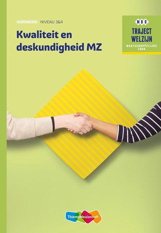 Traject Welzijn Kwaliteit en deskundigheid werkboek niveau 3/4 werkboek - A. Gloudemans pdf epub