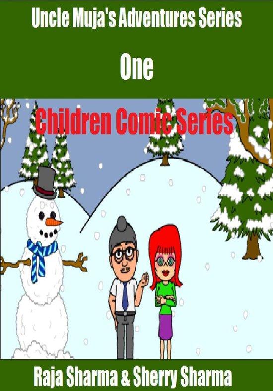Uncle Muja's Adventures Series One: Children Comic Series