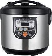 Multicooker RVS met Timer – Elektrische Snelkookpan, Pastakoker, Rijstkoker en Stomer, Stoomkoker