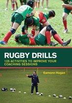 Boek cover Rugby Drills van Eamonn Hogan