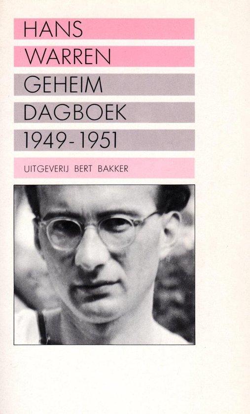 Geheim dagboek 1949-1951 - Hans Warren |
