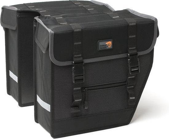 New Looxs Superior Midi - Dubbele Fietstas - 27 l - Black
