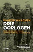 Boek cover Drie oorlogen van Maarten van Rossem