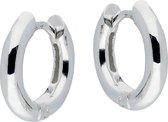 Silver Lining klapoorringen - zilver - ronde buis 2.5 mm - 12 mm