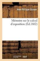 Memoire sur le calcul d'exposition