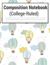 Composition Notebook (College-Ruled)