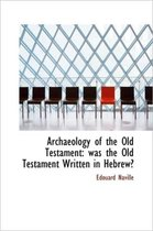 Archaeology of the Old Testament