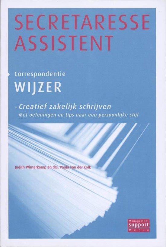 Secretaresse Assistent Wijzer Creatief zakelijk schrijven Correspondentie wijzer - Judith Winterkamp | Fthsonline.com