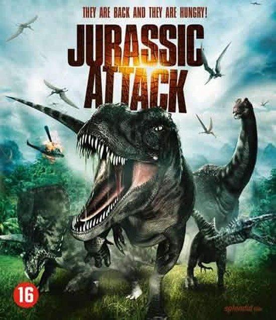 Cover van de film 'Jurassic Attack'