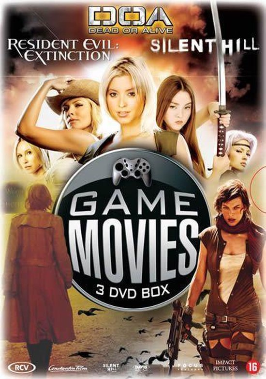 Cover van de film 'Game Movies'