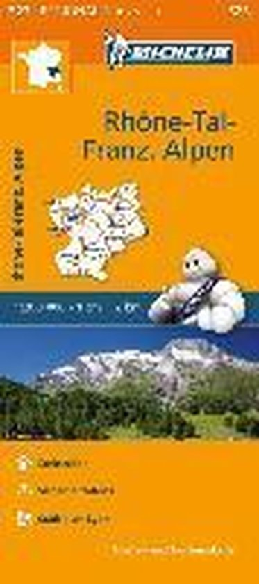 Michelin Rhonetal - Französiche Alpen