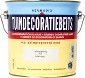 Hermadix Tuindecoratiebeits dekkend 717 Taupe White - 2,5 l