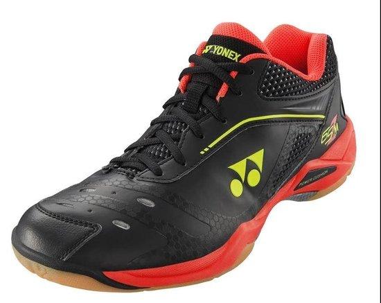 Heren schoenen   Yonex Badmintonschoenen Shb 65Z Heren Zwart/rood Maat 41