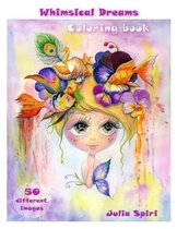 Adult Coloring Book - Whimsical Dreams