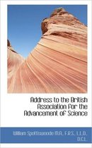 Address to the British Association for the Advancement of Science