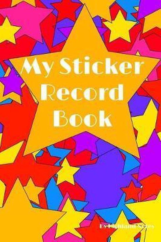 My Sticker Record Book