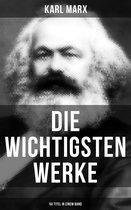 Die wichtigsten Werke von Karl Marx (50 Titel in einem Band)
