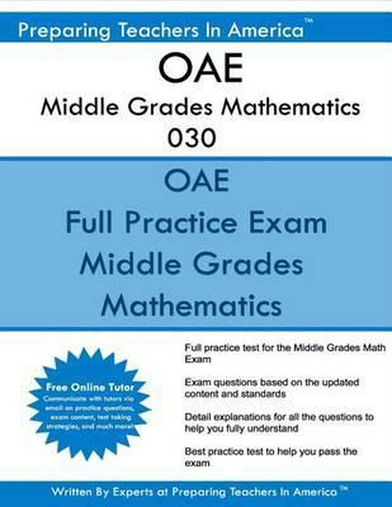 OAE Middle Grades Mathematics 030
