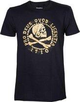UNCHARTED 4 - T-Shirt Pro Deus Qvod Licentia (M)