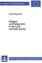 Religion Und Religiositaet in Der Lyrik Von Nelly Sachs
