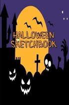 Halloween Sketchbook: Kids Halloween Sketchbook, Draw Your Own Witches, Zombies, Ghosts & Other Monsters