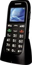 Fysic Big Button Basic mobiele Senioren Telefoon - Zwart