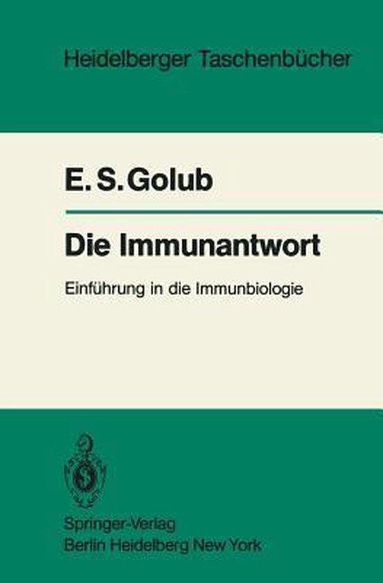 Omslag van Die Immunantwort