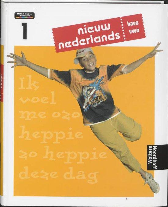 Nieuw Nederlands 1 Havo/vwo leerboek 4e editie - T. Barends |