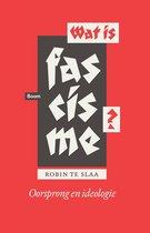 Boek cover Wat is fascisme? van Robin te Slaa