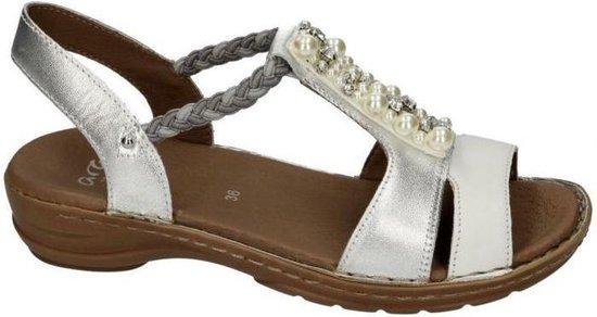 | Ara Dames zilver sandalen maat 38