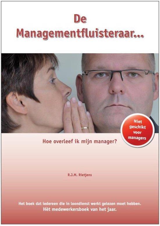 Cover van het boek 'De Managementfluisteraar' van R.J.M. Rietjens