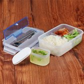 Bento Lunchbox Met Bestek - Japanse Broodtrommel - BPA Vrij