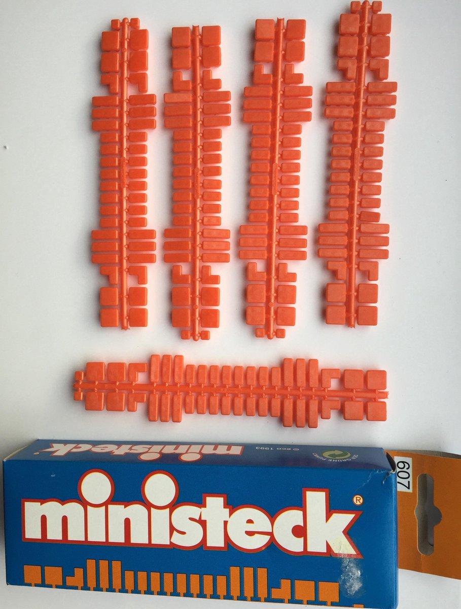 Ministeck aanvulling oranje kleurcode 31607 - 5 strips in verpakking