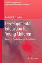 Omslag Developmental Education for Young Children
