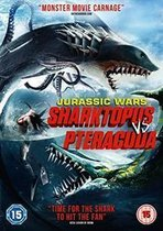 Jurassic Wars: Sharktopus VS Pteraguua (Import)