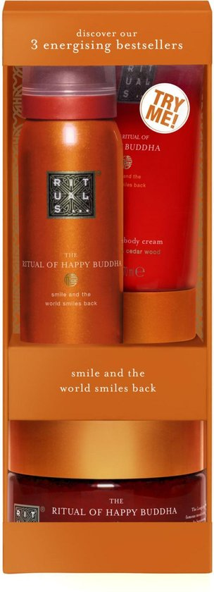 RITUALS The Ritual of Happy Buddha geschenkset - small - try me set