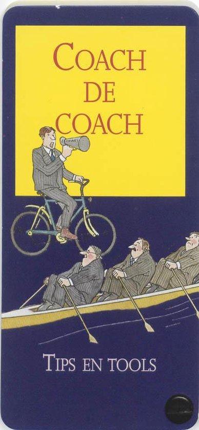 Boek cover Coach de coach 15 kaarten van A. Galen (Onbekend)