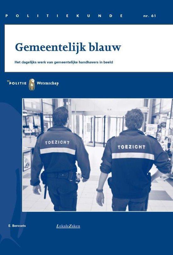 Politiekunde 61 - Gemeentelijk blauw (PK61) - E. Bervoets |