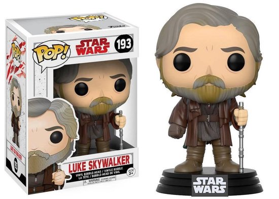Funko Pop! Star Wars Luke Skywalker - #193 Verzamelfiguur - Funko