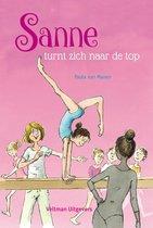 Boek cover Sanne turnt zich naar de top van Paula van Manen