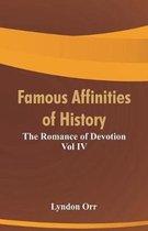 Boek cover Famous Affinities of History van Lyndon Orr