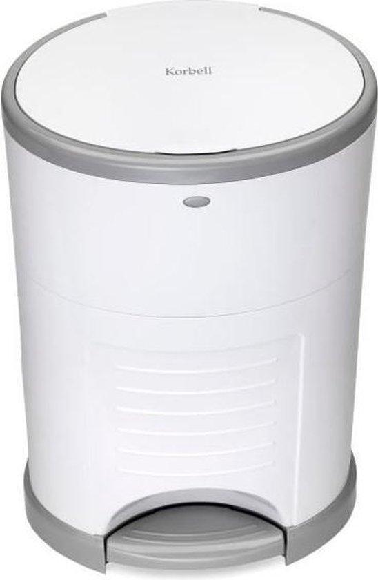 Korbell Luieremmer - 15 liter - Wit