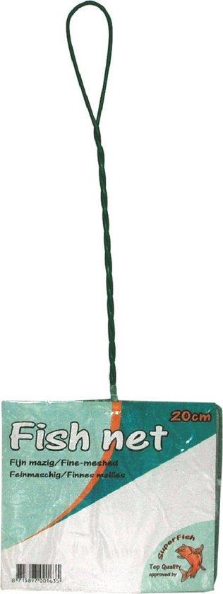 Superfish visnet - schepnetje fijn wit 20 cm - 1 ST