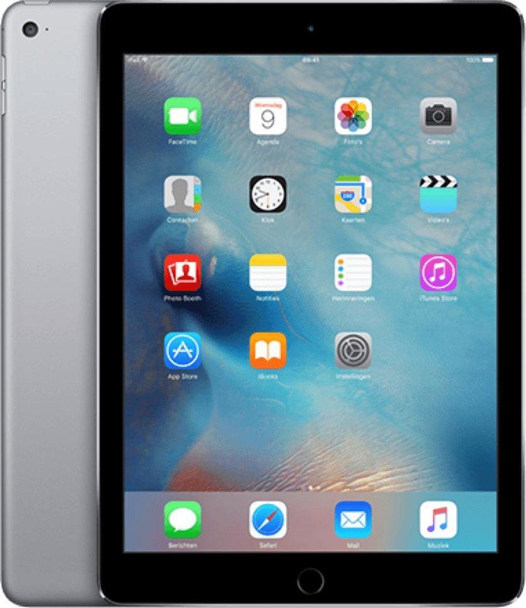 Apple iPad Air 2 refurbished door Forza - A-Grade (Zo goed als nieuw) - 16GB - Cellular (4G) - Spacegrijs