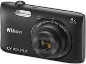 Nikon COOLPIX S3600 - Zwart