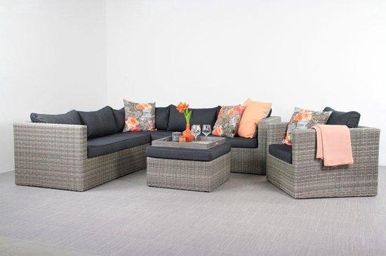 Lounge Stoel Hocker.Nevada Loungeset Inclusief Loungestoel En Hocker Bol Com