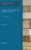 Boek cover Language and Textual History of the Syriac Bible van Jan Joosten