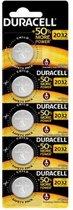 Duracell CR2032 Knoopcelbatterijen - 5 stuks